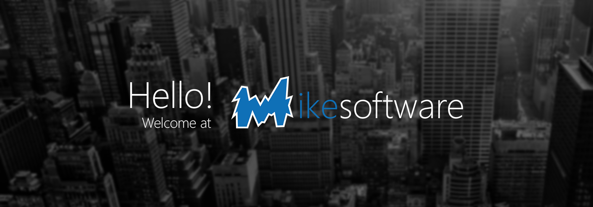 Hello! Welcome to Mikesoftware