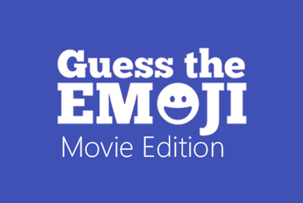 Guess the Emoji Movie Edition